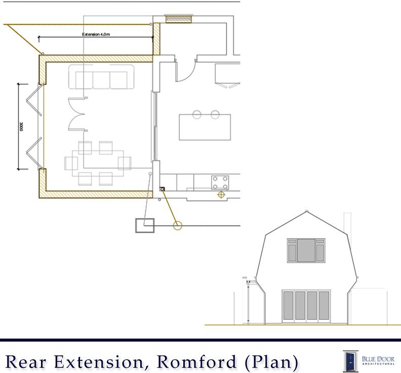 Romford Rear Plan